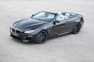 BMW M6 Convertible G-Power чёрного цвета, вид спереди
