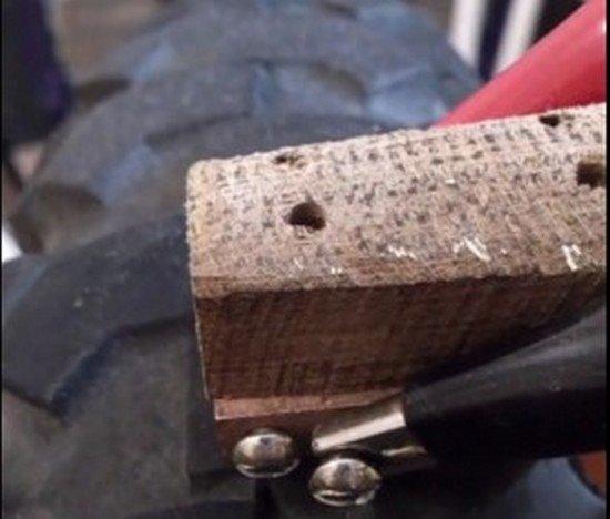 Деревянная ручка регрувера