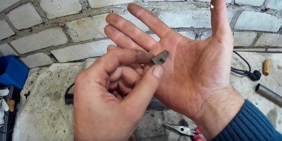 Нож для регрувера