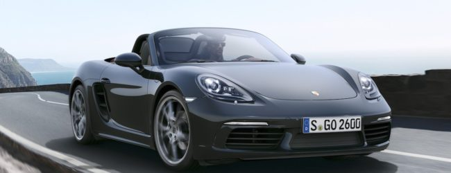 Porsche 718 Boxter 2016