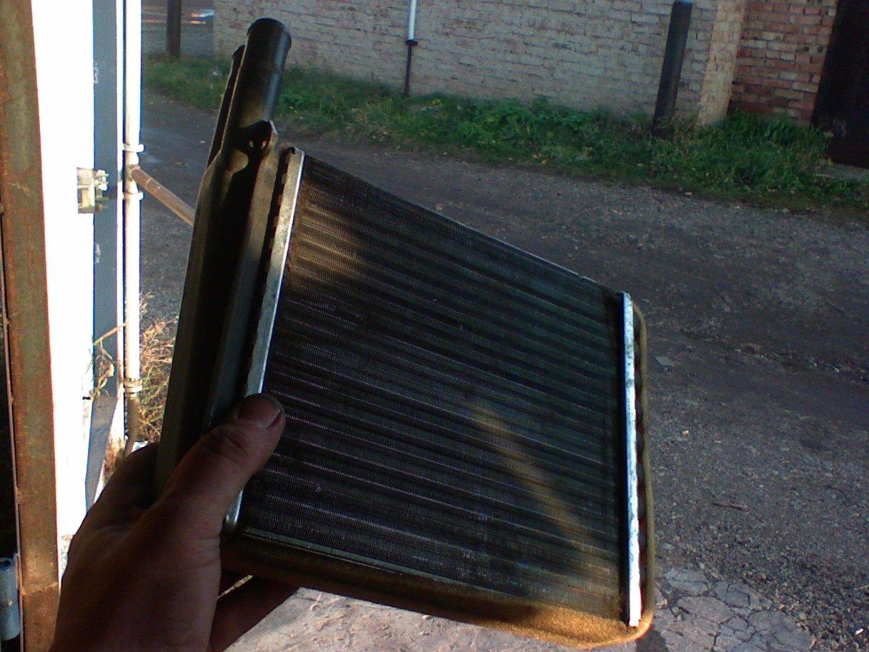 Потёк радиатор на Калине