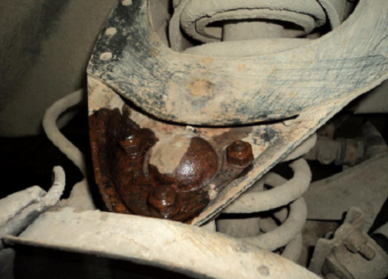 Крепления шаровых опор на ВАЗ 2107