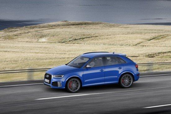 Audi RS Q3 вид сбоку