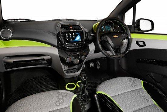Панель приборов Chevrolet Beat Activ