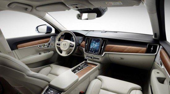 Салон Volvo V90