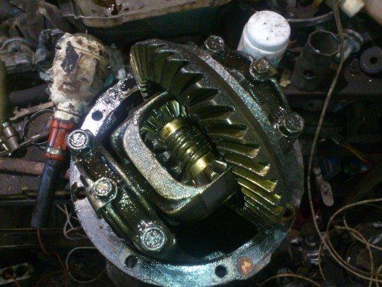 Втулки установлены в редуктор ВАЗ 2107