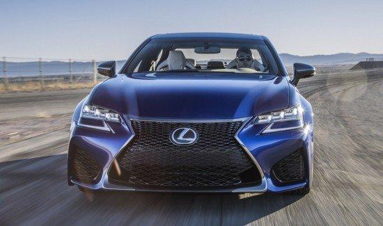 Lexus GS F, вид спереди