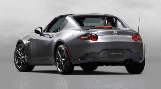 Mazda MX-5, вид сзади