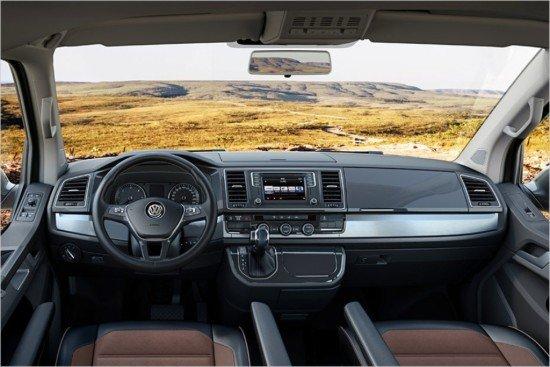 Панель приборов olkswagen Multivan
