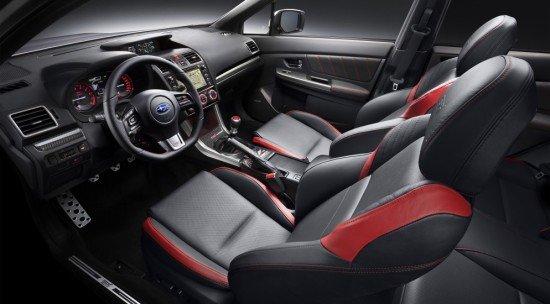 Салон Subaru WRX STI