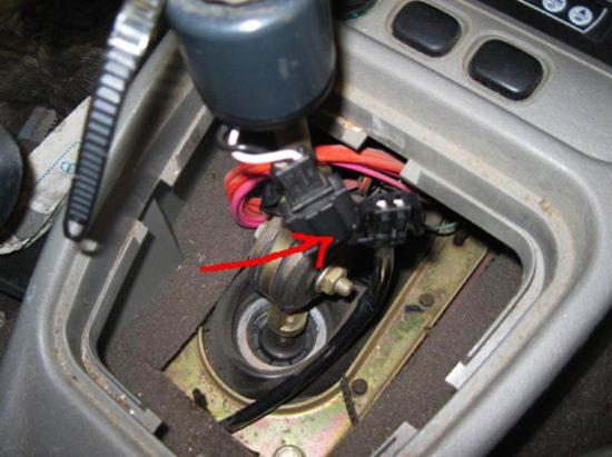 Магнитный выключатель автомобиля Лада Калина