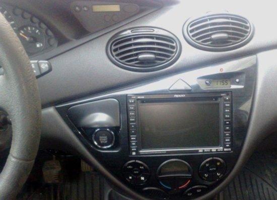Готовая кнопка старт-стоп в машине