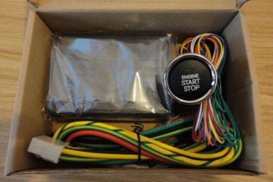 Готовый комплект для подключения кнопки старт-стоп