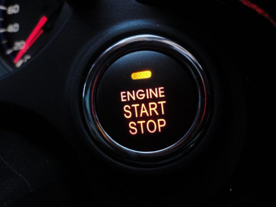 Кнопка старт-стоп в авто