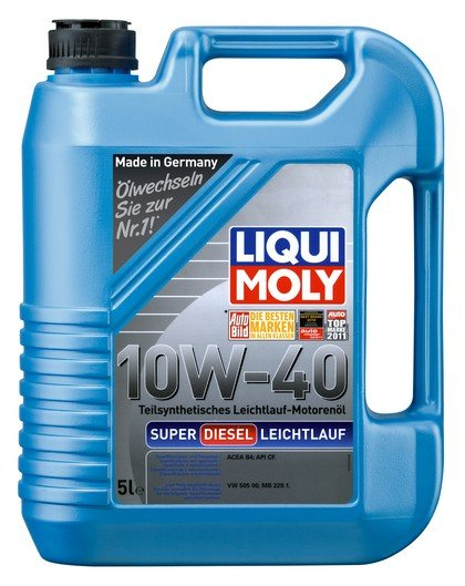 Полусинтетическое масло Super Diesel Leichtlauf