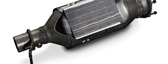 Сажевый фильтр автомобиля