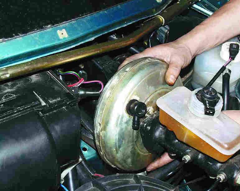 Замена вакуумного усилителя тормозов ваз 21099 своими руками