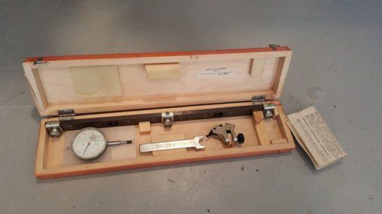 Рейка и индикатор для регулировки клапанов