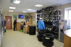 Выбор шин в шинном центре