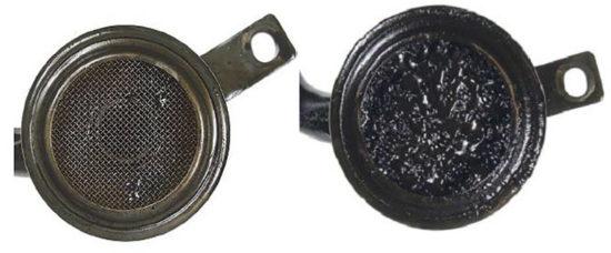 Фильтрующие сетки масляного насоса