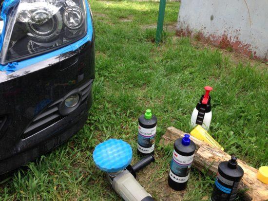 Инструменты для полировки