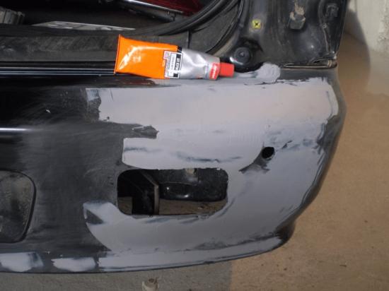 Устранение повреждений бампера