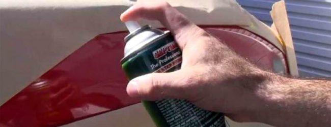 Как покрасить бампер из баллончика