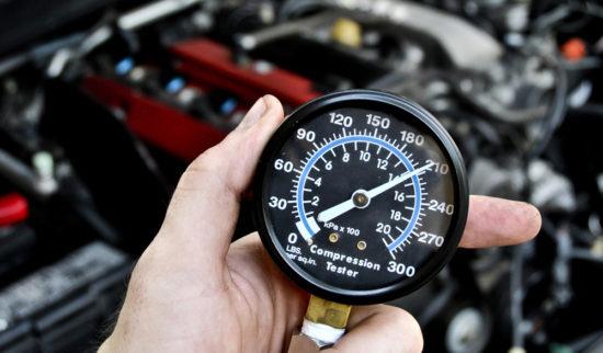 Компрессионные показатели двигателя