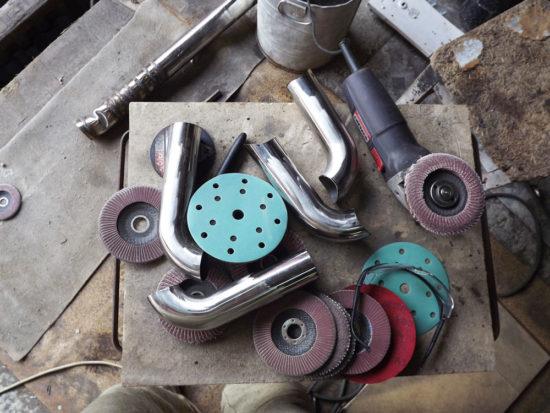 Инструменты и материалы для изготовления кенгурятника