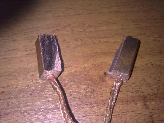 Щетки моторчика печки