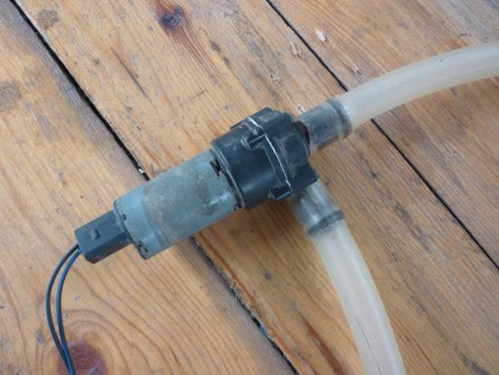 Насос для промывки радиатора