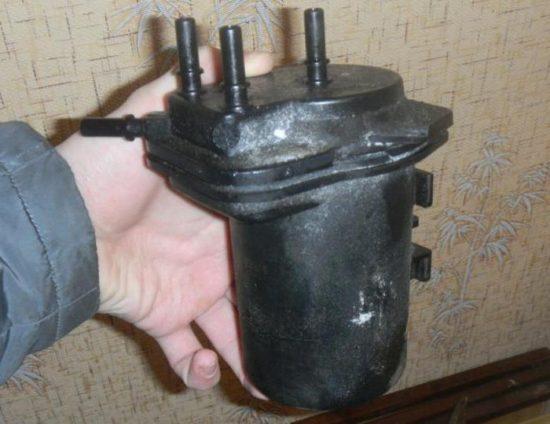 Замена топливного фильтра грубой очистки