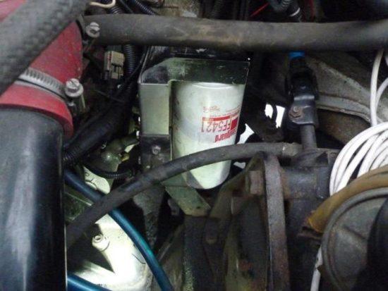 Замена топливного фильтра тонкой очистки