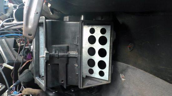 Заслонка печки Volkswagen Golf 2
