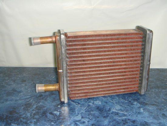 Медный радиатор печки «Шевроле Лачетти»