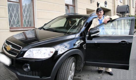 Машины Михаила Боярского