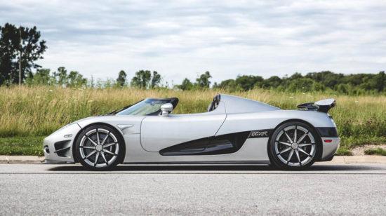 Самая дорогая машина в мире Koenigsegg CCXR Trevita