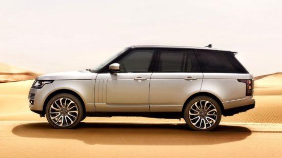 Внедорожник премиум-класса Range Rover