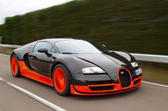 Bugatti Veyron — любимый автомобиль Слепакова