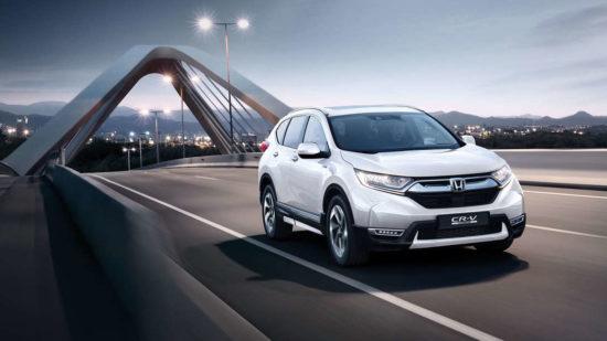 Новинка авто 2019 года Honda CR-V Hybrid