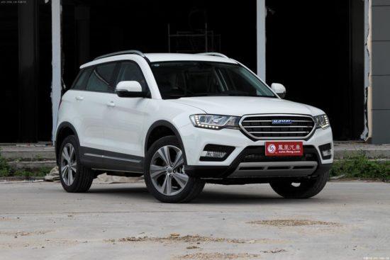 Haval H6 Coupe от китайских производителей