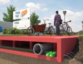 Пластиковые дороги в Голландии