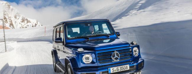 Новый Mercedes-Benz G 350 d