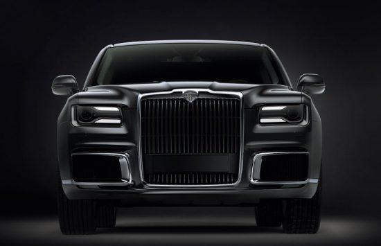 Новый российский автомобиль Aurus Senat