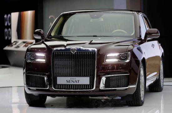 Российский автомобиль Aurus Senat