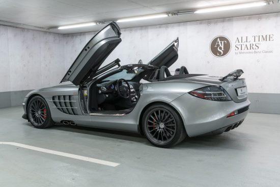 Машина Mercedes-Maclaren SLR