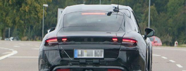 Прототип  Porsche Taycan