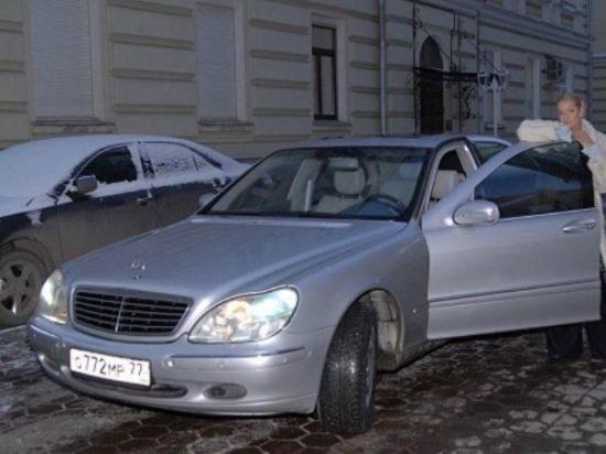 Машины Анастасии Волочковой