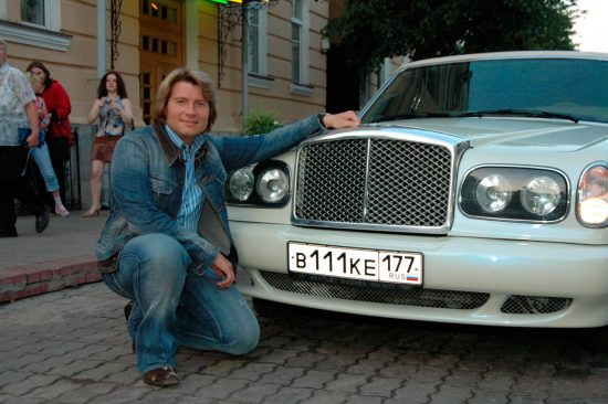 Машина Николая Баскова