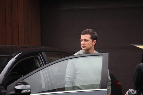 Зеленский со своей машиной